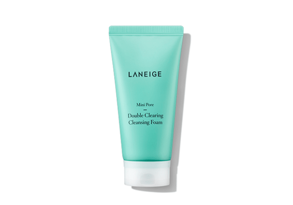 Laneige-Mini-Pore-Double-Clearing-Cleansing-Foam